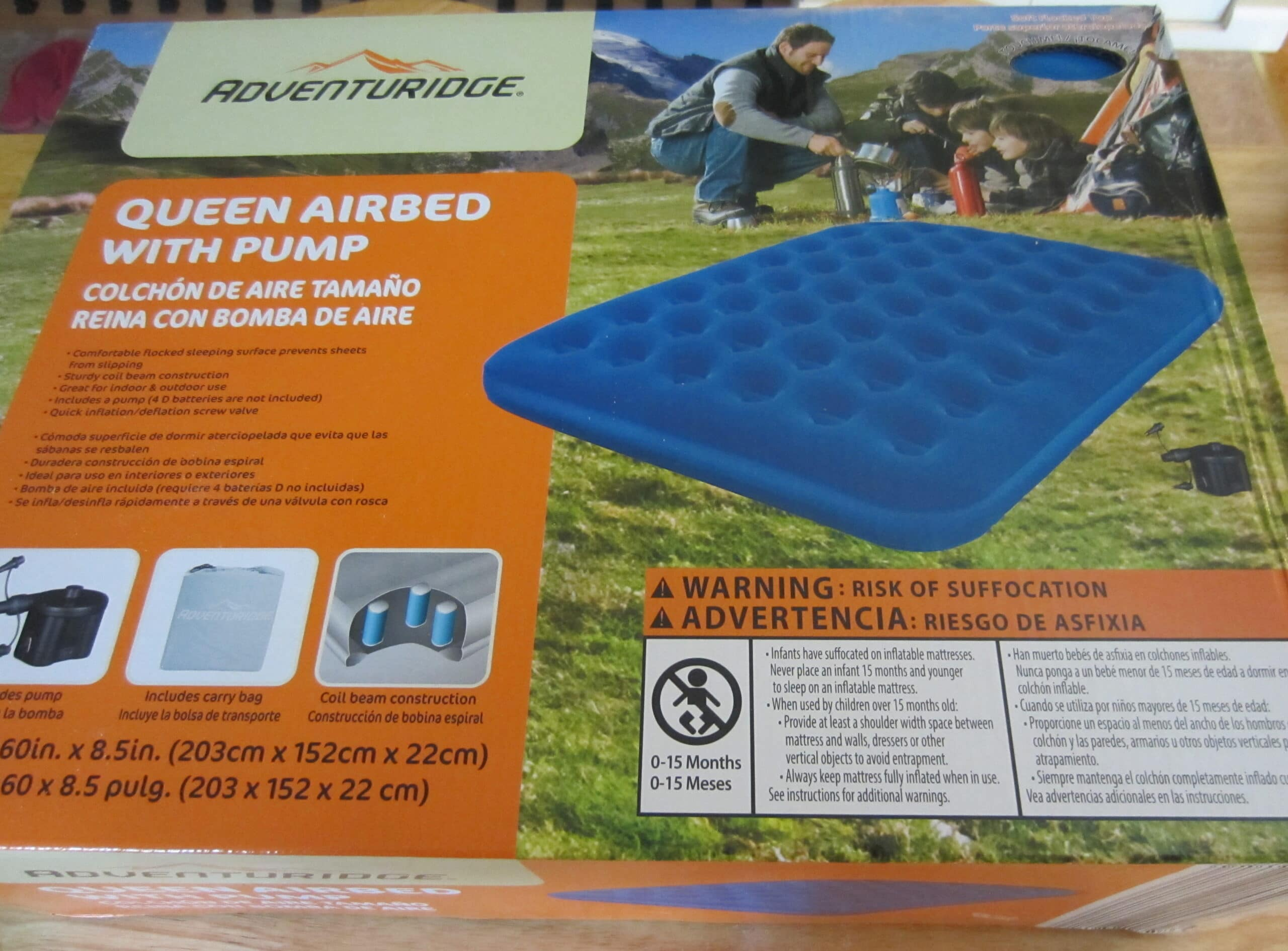 Queen Air Mattress Cot Adventuridge Queen Airbed With Pump Aldi Reviewer