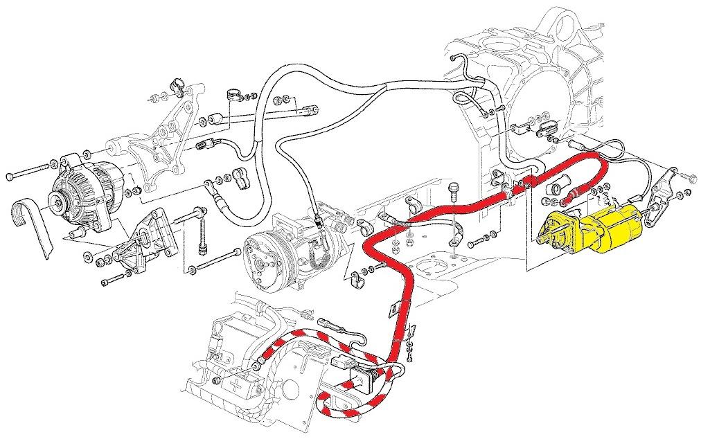 Ferrari Motor diagram