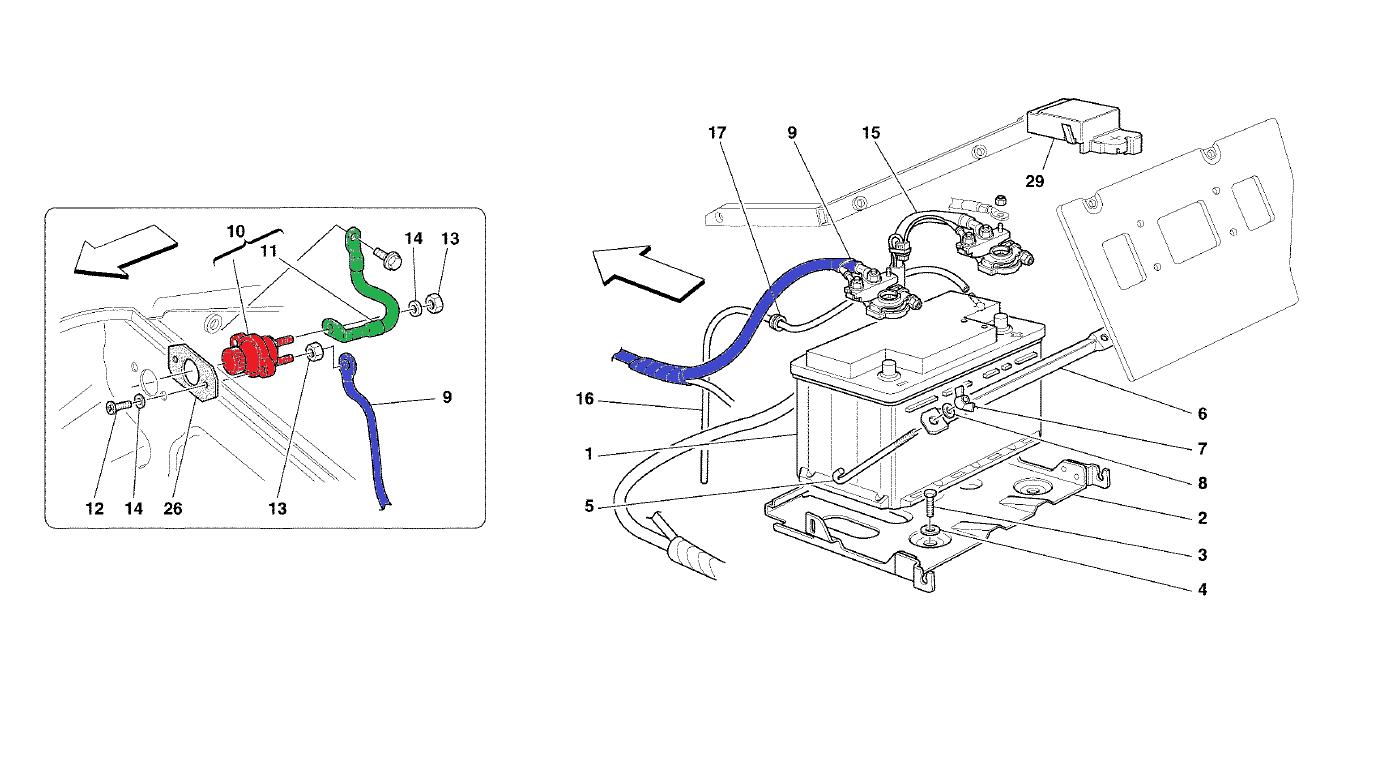 ferrari ba40 wiring diagram