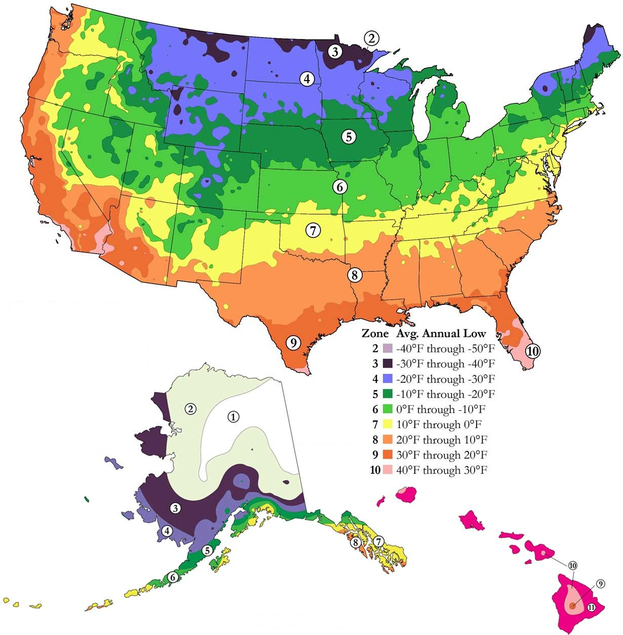 Planting Zones By Zip Code