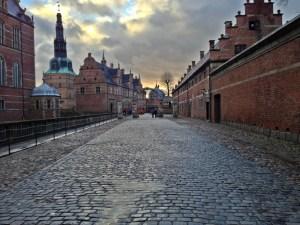 Frederiksborg Slott ude gang