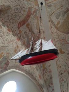 Keldby Kirke båd