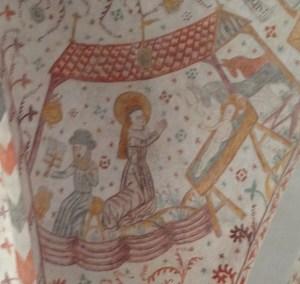 Keldby Kirke jesu fødsel krybbe