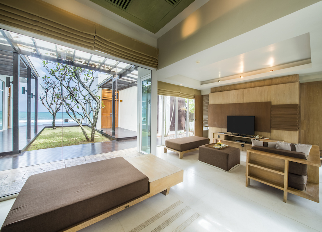 Luxusvilla Innen Schlafzimmer Aleenta Phuket Resort Spa Fünf Sterne Beach Resort Villen In