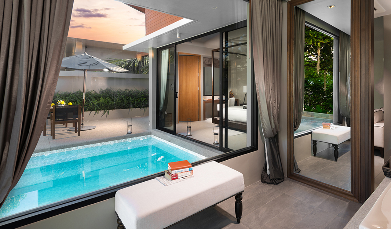 Jacuzzi Pool Deluxe Grand Deluxe Pool Villas Aleenta Phuket Resort Spa