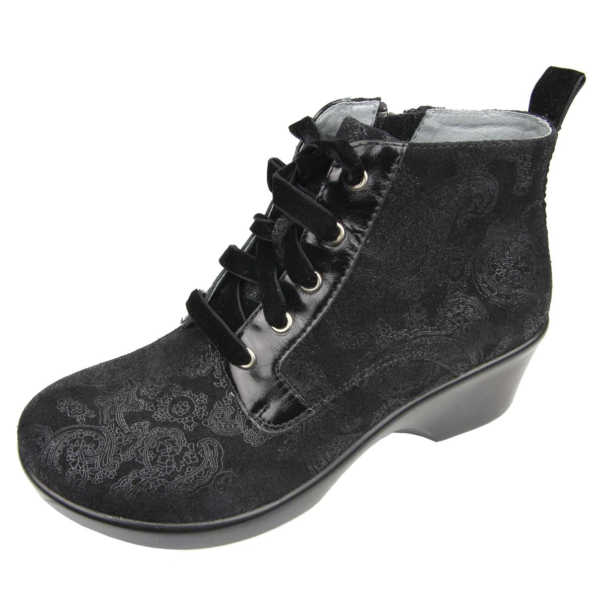 Madi Home Alegria Shoes Eliza Black Beauty Boots | Free Shipping!