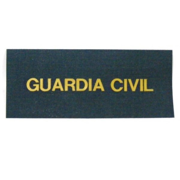 Funda Alert Galletas Tela Servicio Guardia Civil - Alerta Alfa