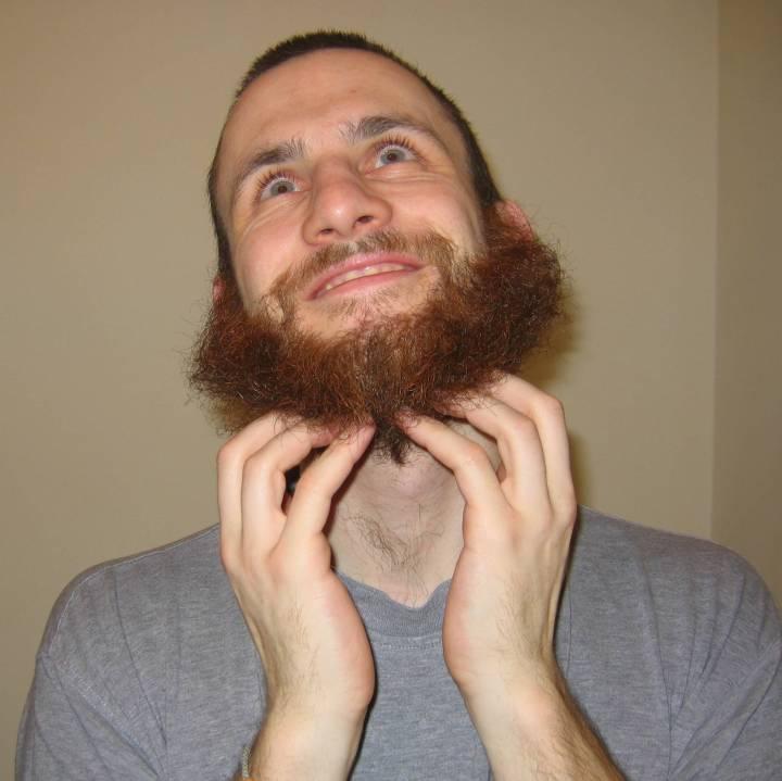 My beard at it's longest