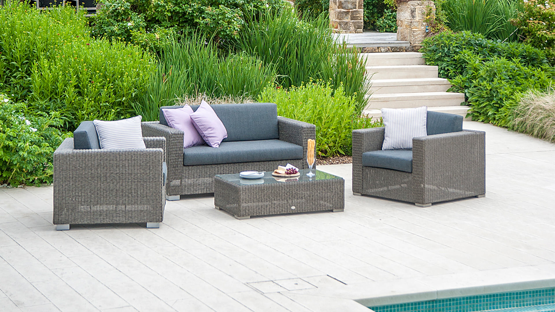 Garden Rattan Sofa Uk Garden Furniture Collections By Alexander Rose