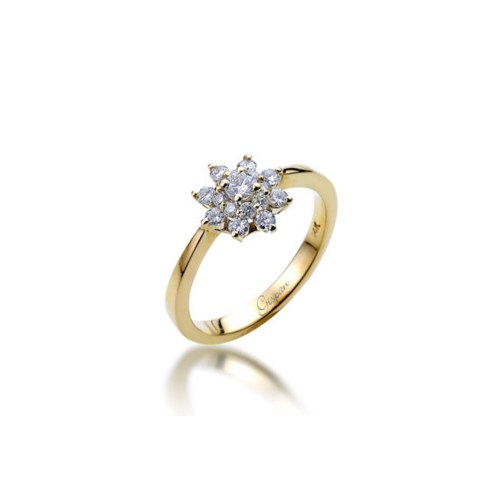Medium Crop Of Nature Inspired Engagement Rings