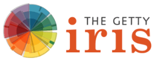 The Getty Iris Logo