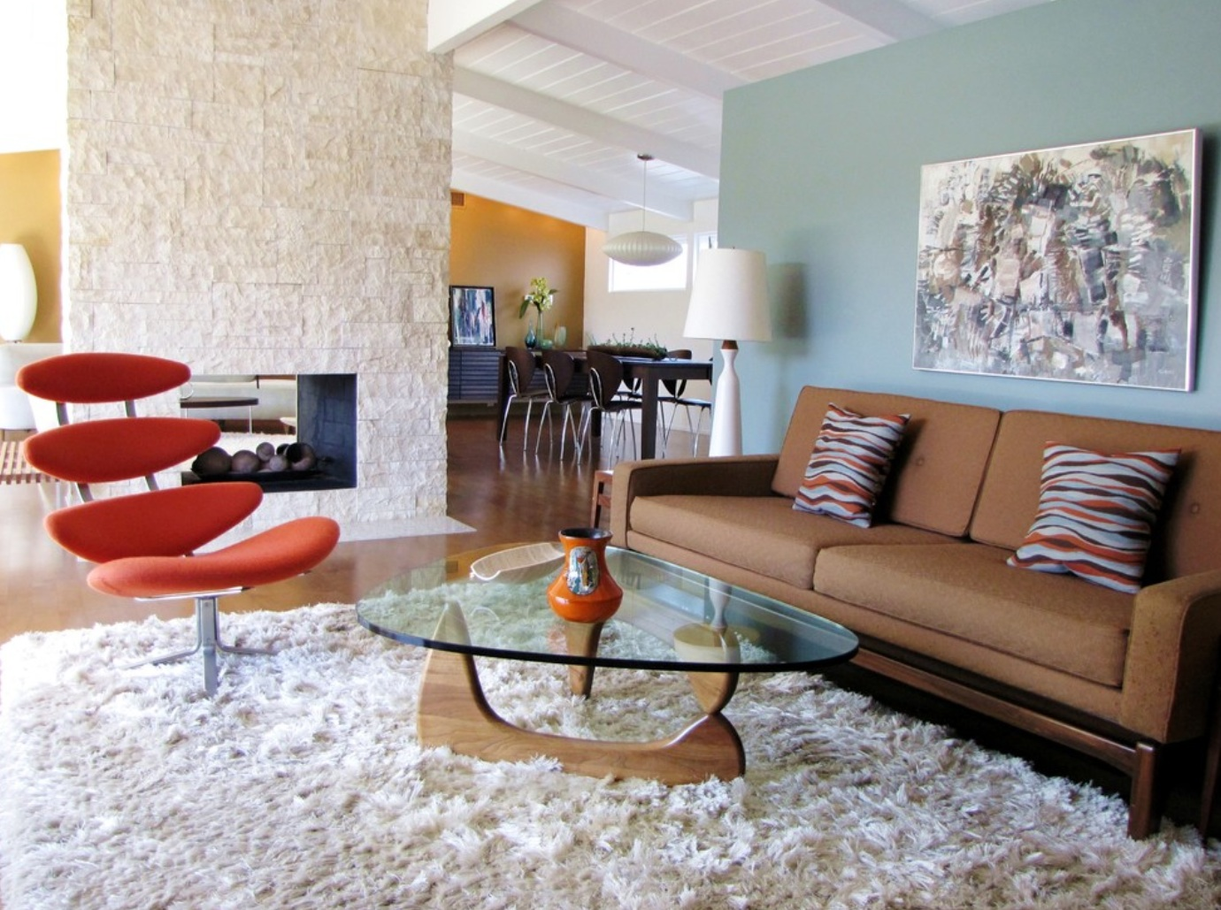 Mid Century Modern Interior Paint Colors Photos Of 2013 The Most Popular Midcentury Modern Spaces