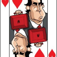Card-i-cature a week... Week 12 - Gordon Brown (the Jack of Hearts)
