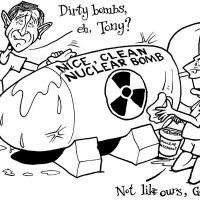 Nice, Clean Nuclear Bomb