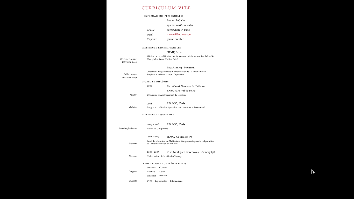 writing resume latex professional resumes example online