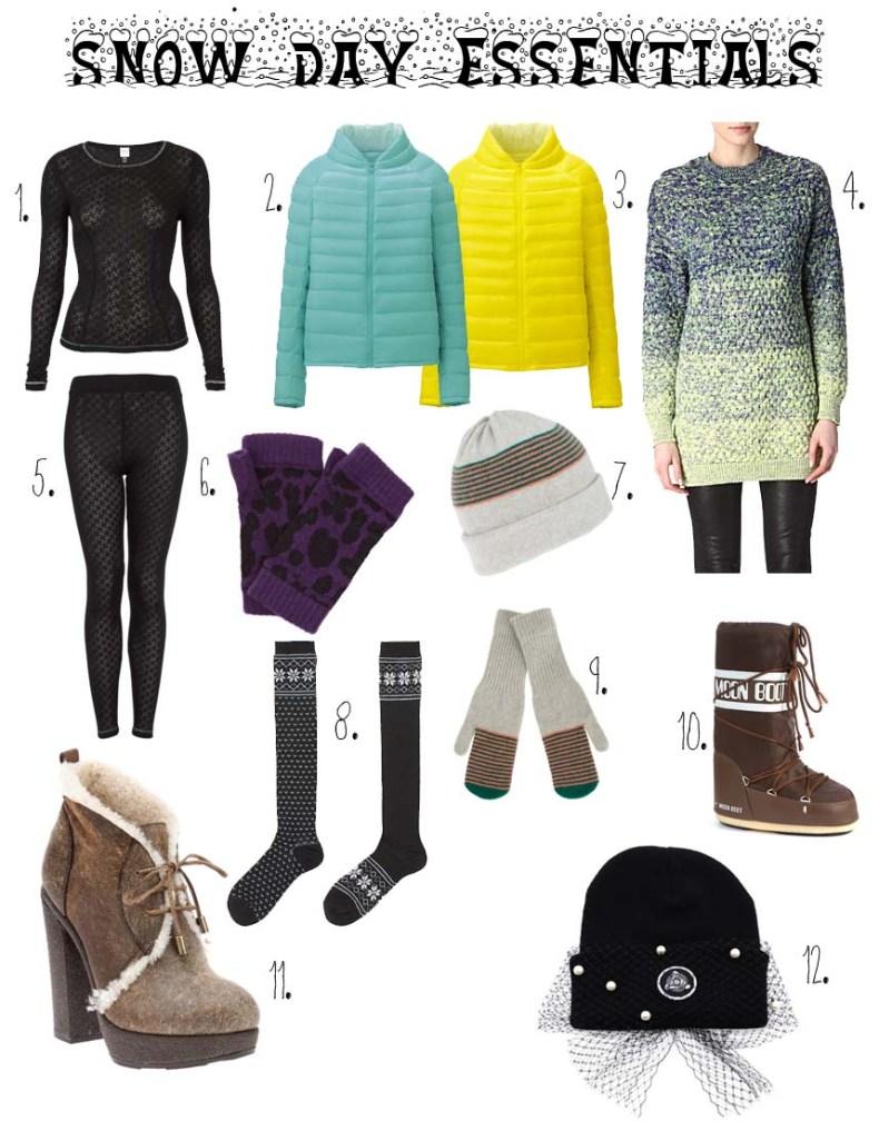 Snow Day Essentials