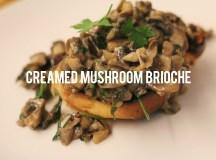 Recipe: Creamy Mushroom Brioche