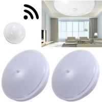 12W PIR Infrared Motion Sensor Flush Mounted LED Ceiling ...