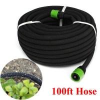 100FT Garden Lawn Porous Soaker Hose Watering Water Pipe ...