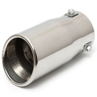 Universal Stainless Steel Car Auto Exhaust Tail Pipe Tip ...