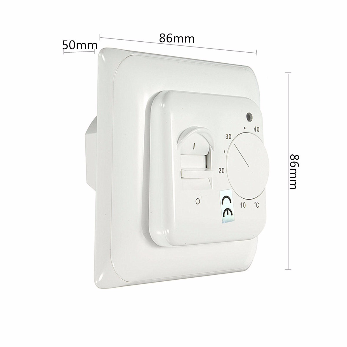 Heating Thermostat 230v Manual Heating Thermostat For Underfloor Electric Heating System 16amp Room