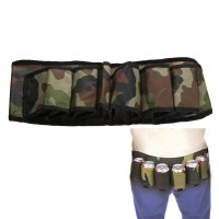6 Pack Beer Soda Belt Drinks Beer Belt Holder for Outdoor