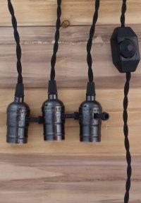 Kingso E27 E26 Edison Socket Vintage-Style Pendant Light ...