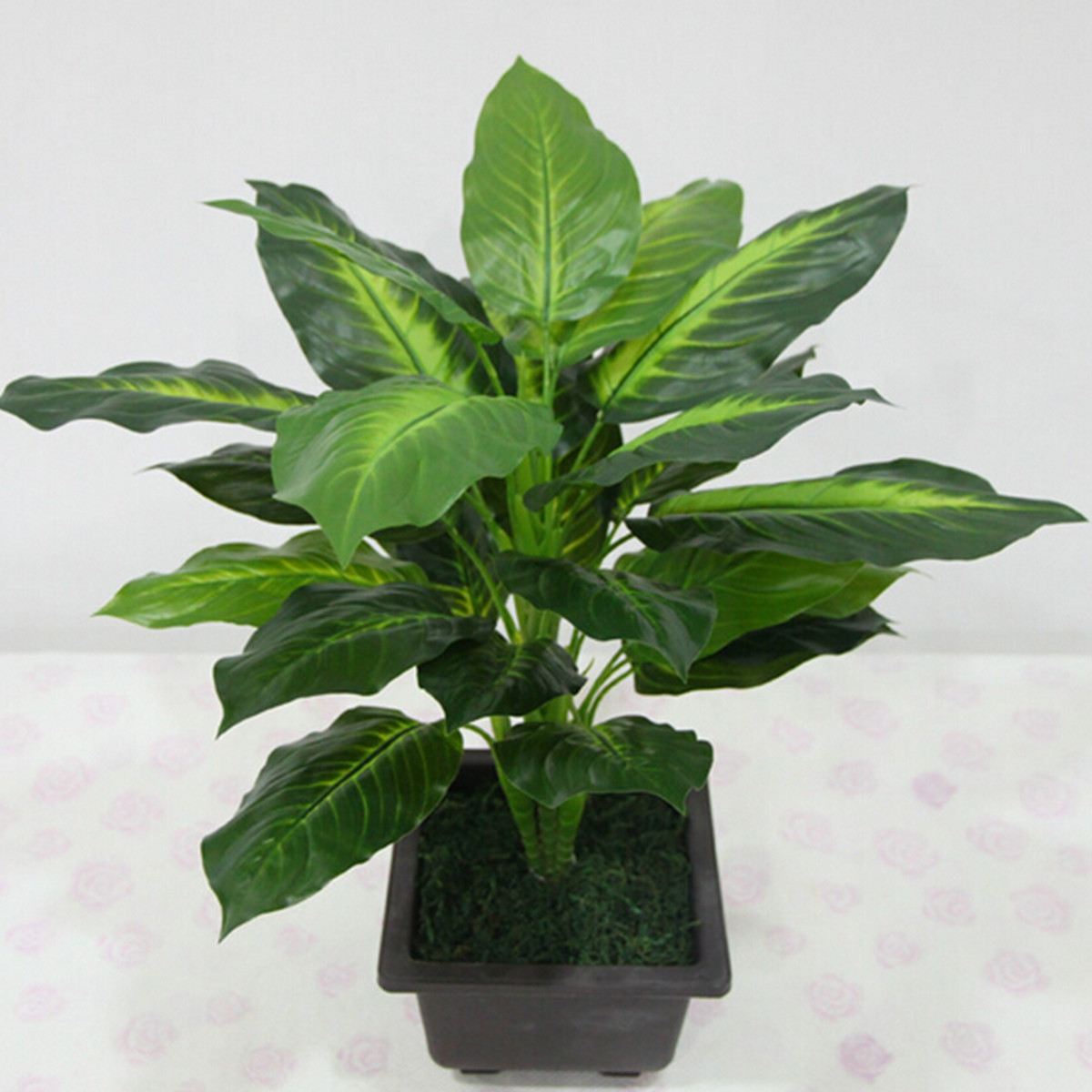 Lifelike Plants 50cm Lifelike Leaves Evergreen Artificial Plant Simulation