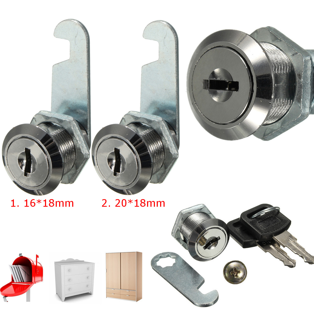 Kitchen Cabinet Cam Locks Zinc Alloy Cam Locks Filing Cabinet Mailbox Drawer