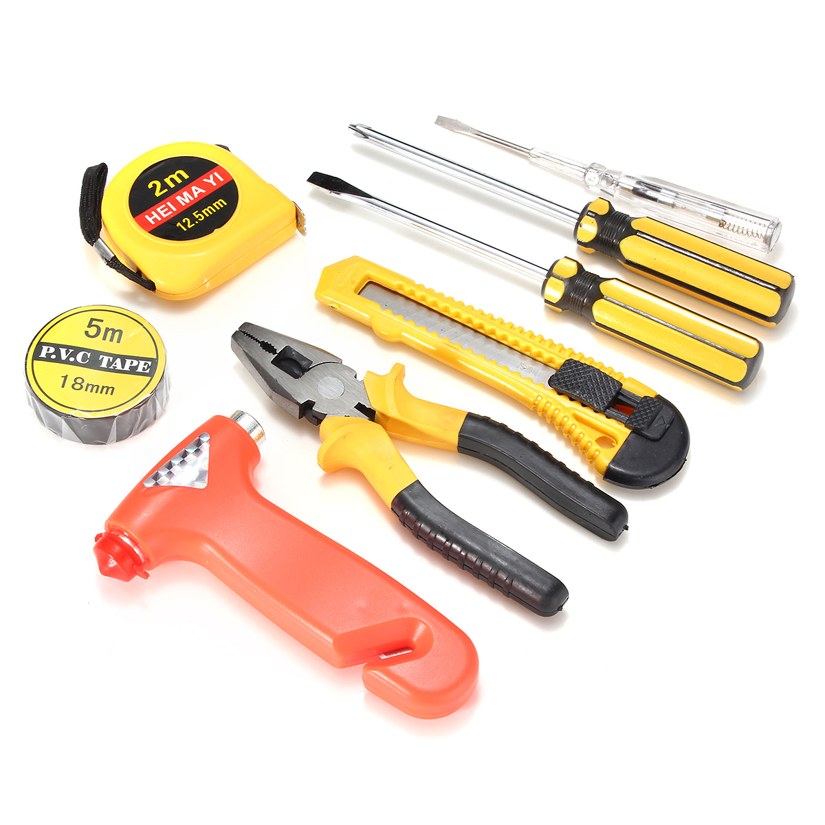 Tools Auto 9pcs Auto Car Household Repair Tool Set Combination Hand