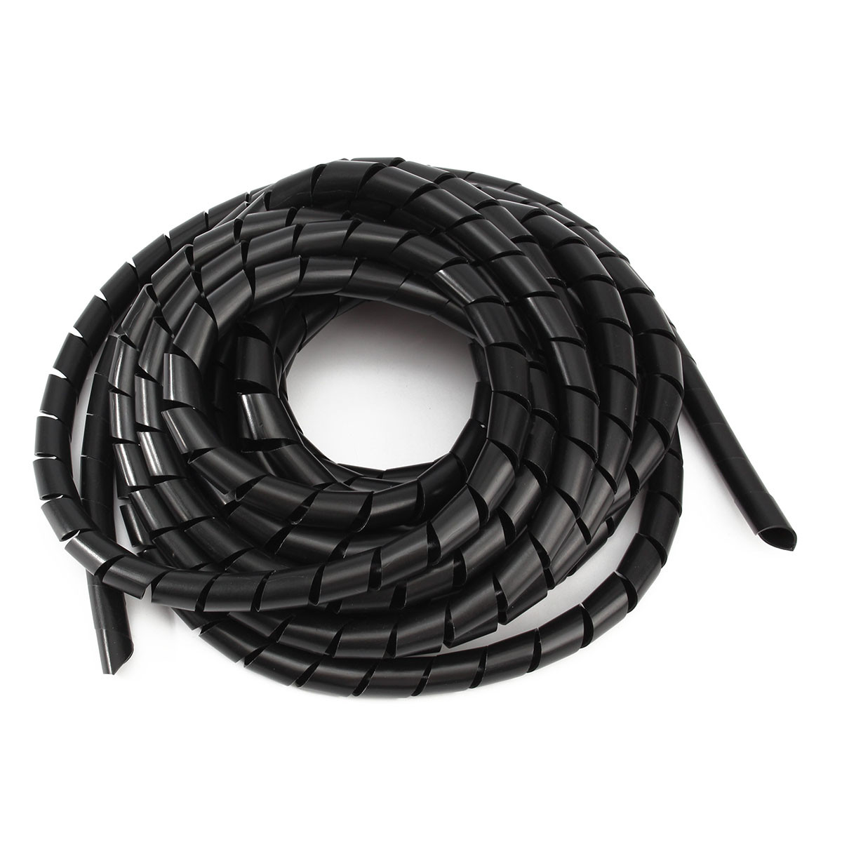 Cable Tube Black Spiral Polyethylene Cable Electrical Wire Wrap Tube