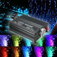2M DIY 16W RGB LED Fiber Optic Star Ceiling Lights Kit