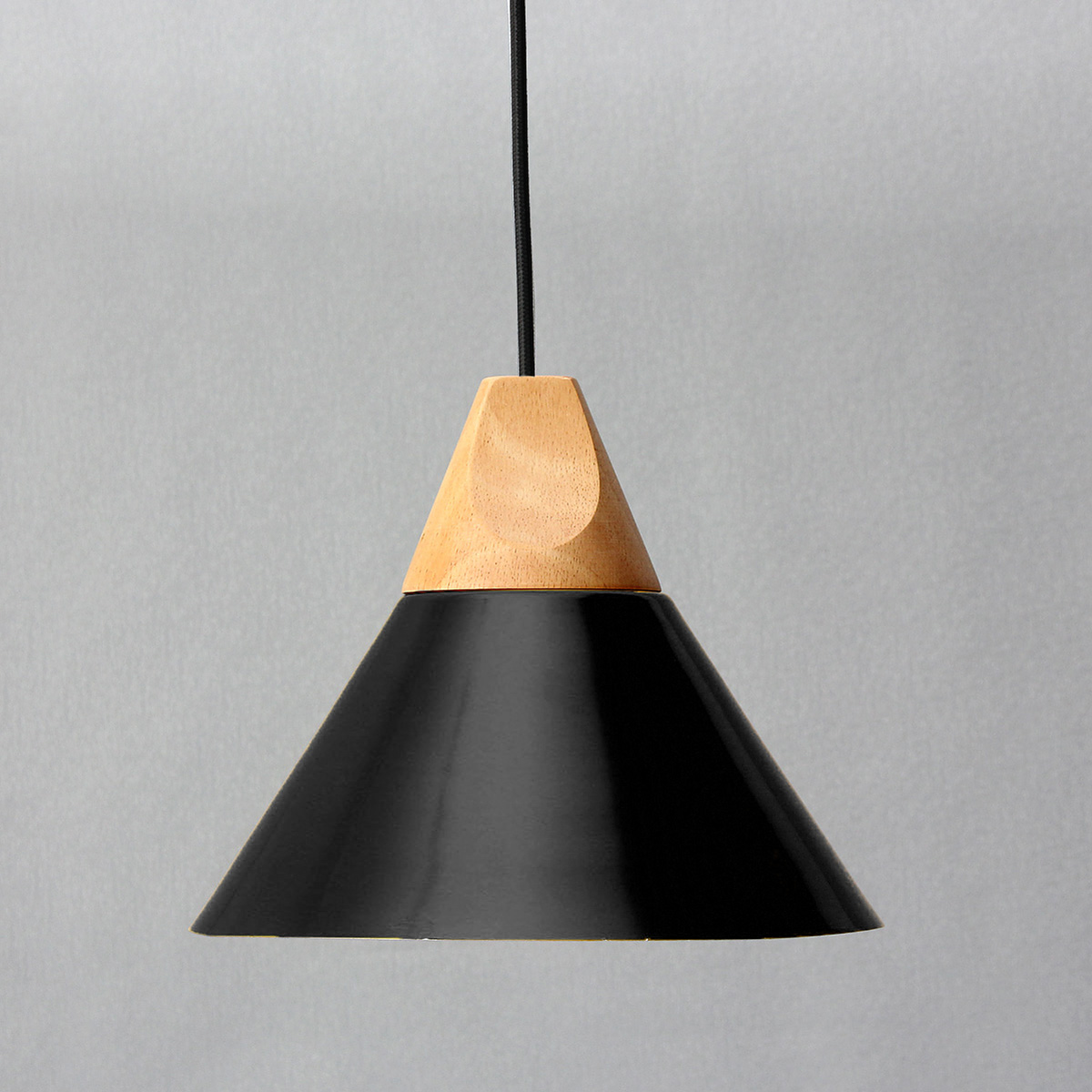 Wooden Lighting Pendants Diameter 25cm Modern Wooden Pendant Ceiling Hanging Lamp