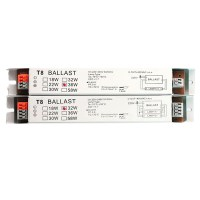 2X36W Wide Voltage Electronic Ballast For T8 Fluorescent ...