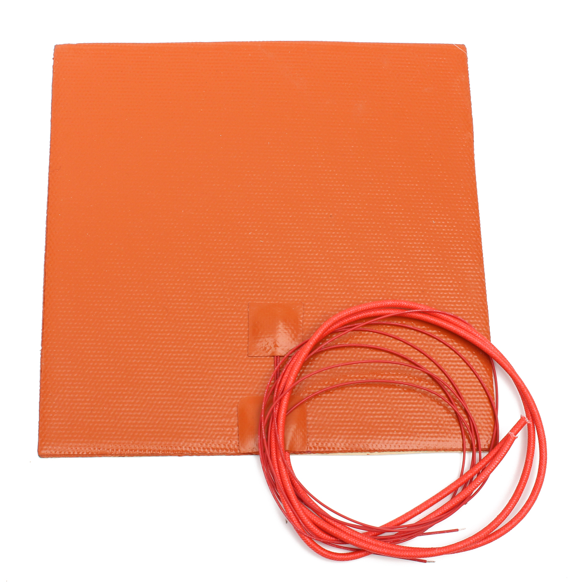 Bed Heater 12v 200w 200mmx200mm Waterproof Flexible Silicone Heating Pad Heater For 3d Printer Heat Bed