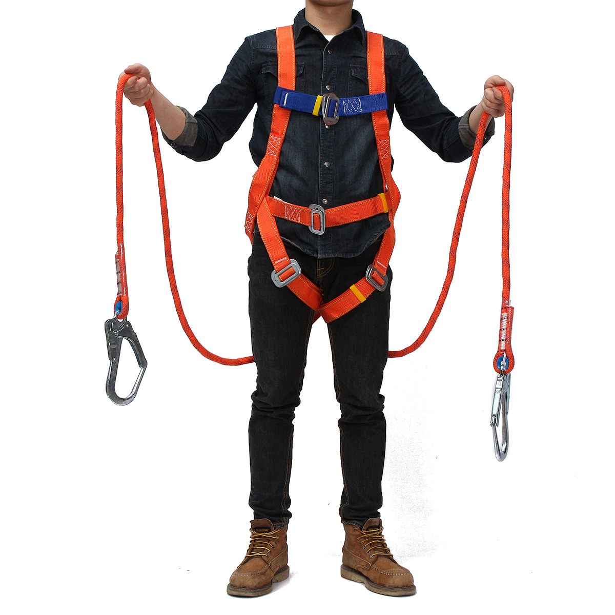 Safety Belt Outdoor Full Body Climbing Safety Belt Rescue Rappelling Aloft Work Suspension Strap Harness