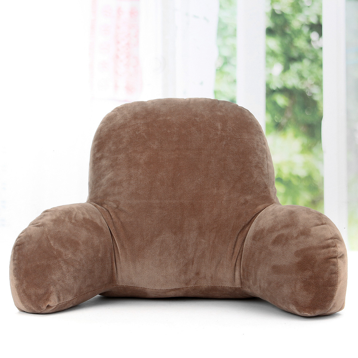 Lounge Bed Pillow with Arms