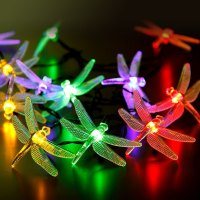 Honana DX-334 20 LED Dragonfly Colorful String Lights ...