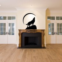 Wolf Moon Story Decal Vinyl DIY Home Room Decor Art Wall ...