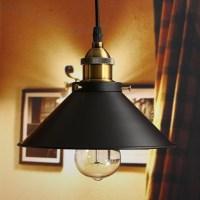 Fixture Ceiling Lamp Retro Industrial Iron Vintage Pendant ...