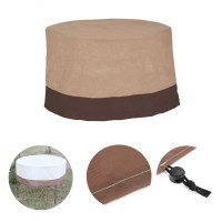 48inch Round Large Waterproof Outdoor Patio Round Table