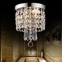 LED Pendant Ceiling Lamp Elegant Crystal Ball Light LED ...