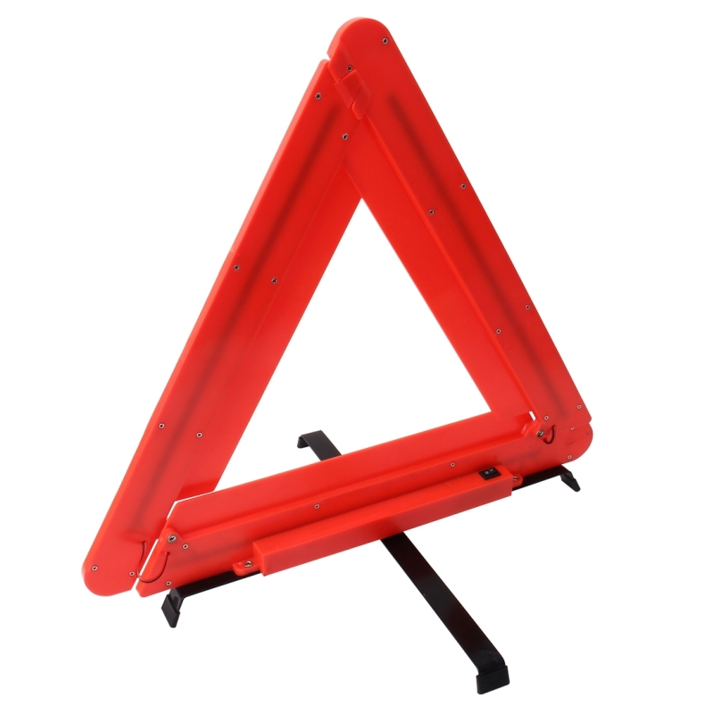 Practical Car Triangle Emergency Warning Sign Foldtable Reflective