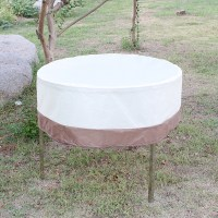 48inch Round Large Waterproof Outdoor Patio Round Table ...