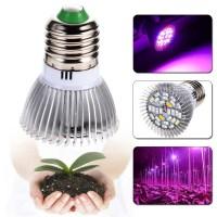 Garden Plant E27 18 28 LED Grow Light Bulb Full Spectrum ...