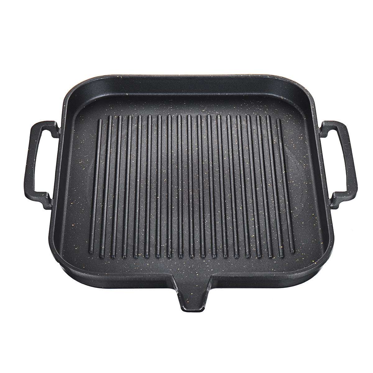Grill Frying Pan Bbq Grill Pan Non Stick Cooking Grill Pan Iron Steak Frying Pan Camping Picnic Cookware