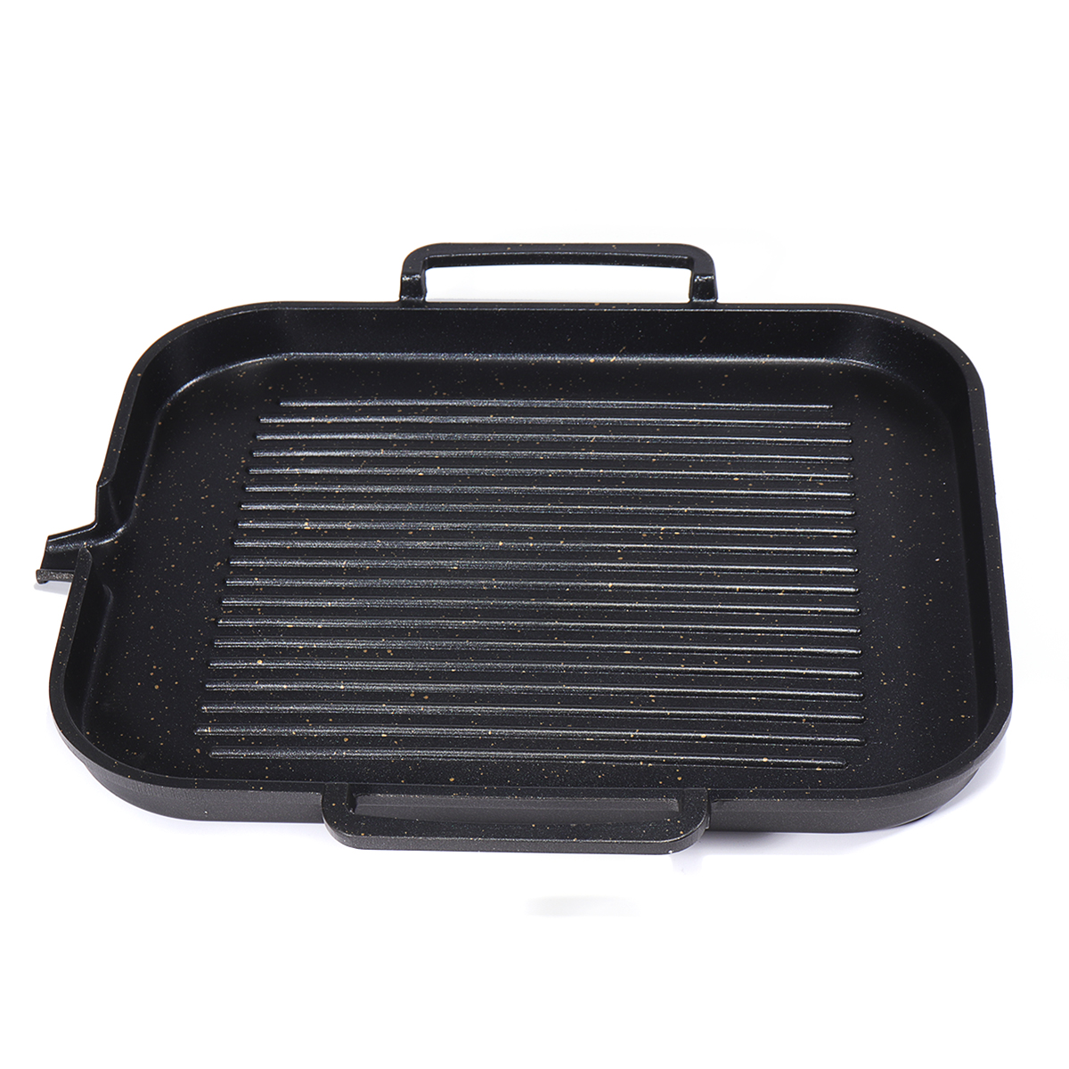 Grill Frying Pan 2 4 People Bbq Barbecue Aluminum Frying Grill Pan Plate Non Stick Coating Cookware Induction Cooking
