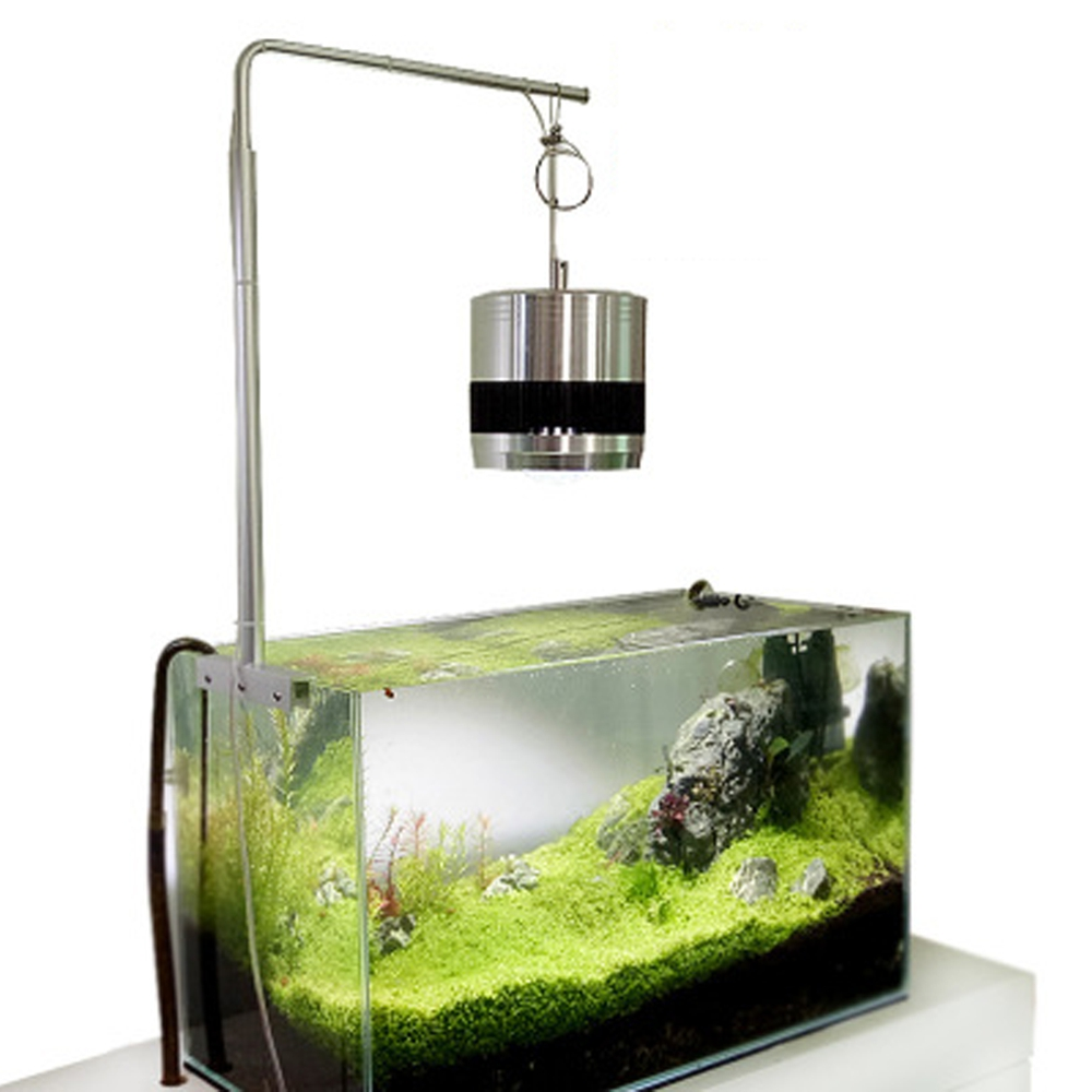 Lamp Plant Universal Aluminium Aquarium Light Hanging Stand Holder For Fish Tank Plant Lamp