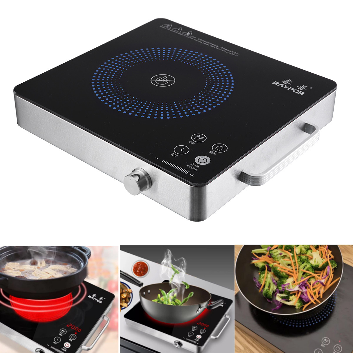 Electric Cooker Portable 2200w Electric Induction Cooker Cooktop Kitchen Burner