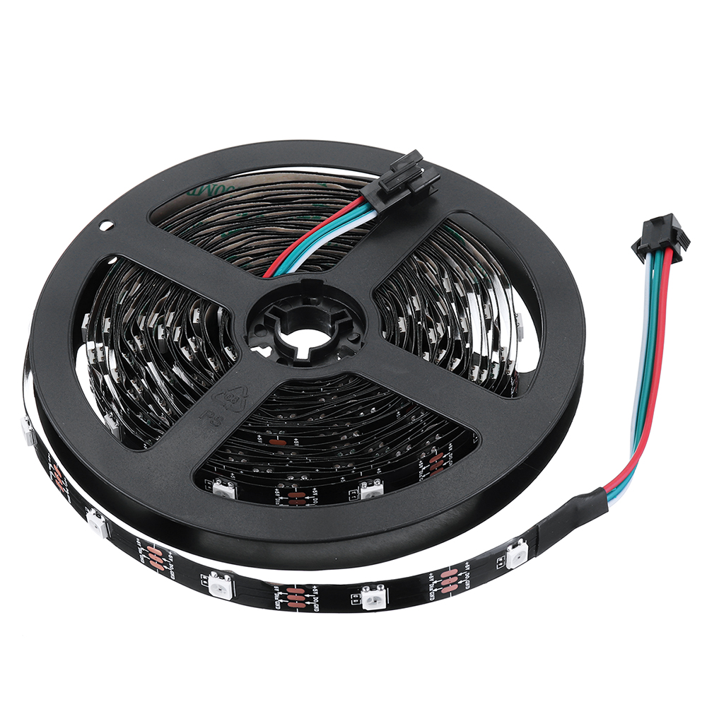 Led Strip 6m Rgb 5050 5v Ws2812 Programmable Usb Led Strip Light 6m 60 Bits 30 Bits Per Meter For Rc Drone Fpv Racing Multi Rotors